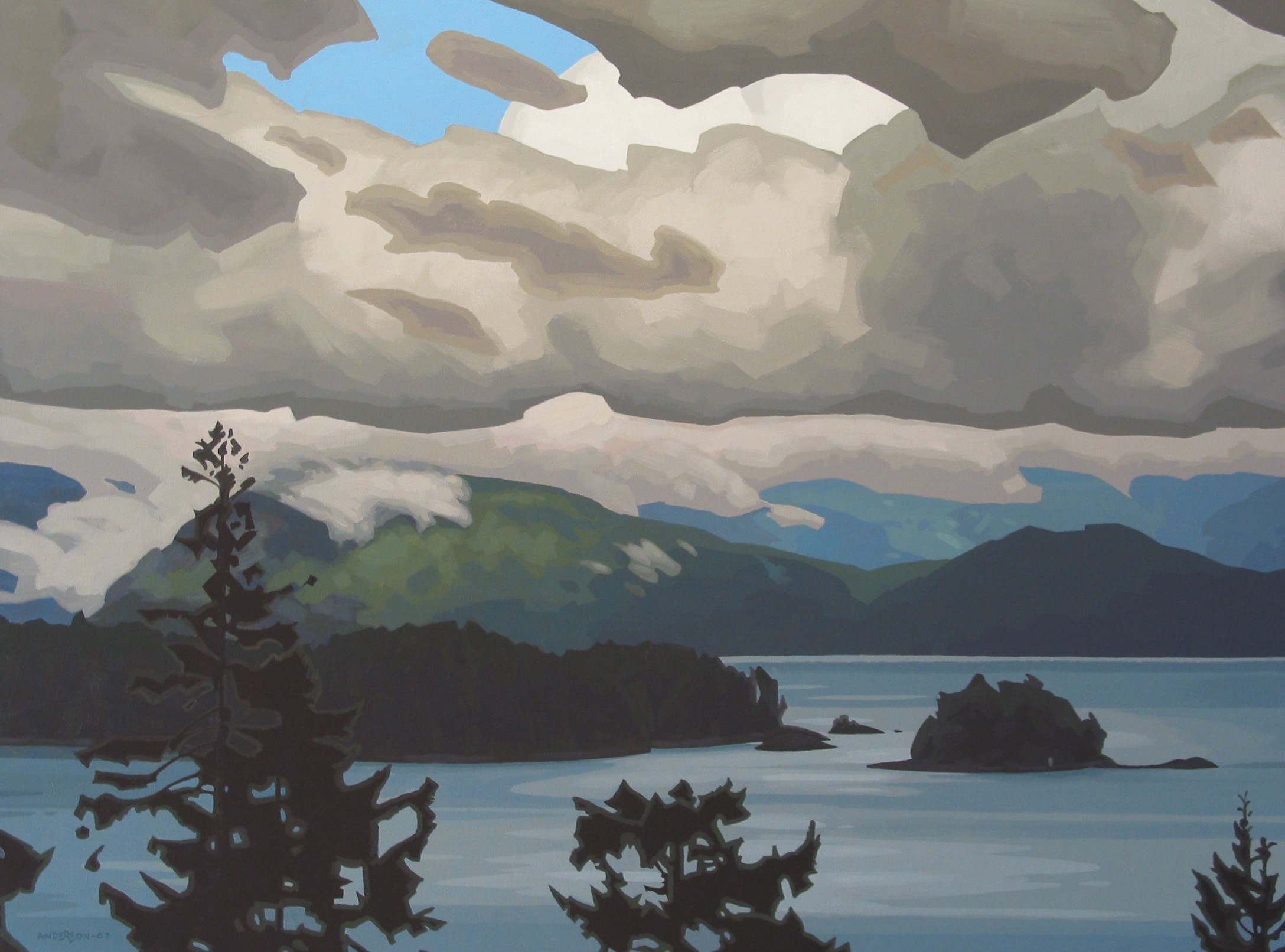 Clayton Anderson, Clayton Anderson Art, J Clayton Anderson, J Clayton Anderson Art, Artist, West Coast Artist, West Coast, West Coast Art, Canadian Art, Canadian Artist, Landscape Artist, Canadian Landscape Artist, Acrylic, Acrylic Painting, Langdale, Sunshine Coast, Sunshine Coast Art,