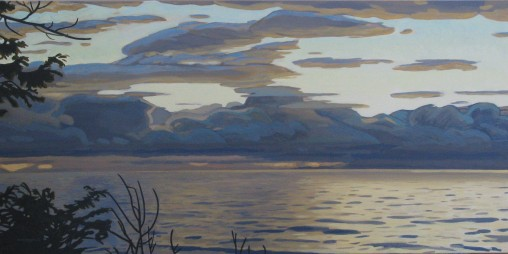 24x48 Salish Sea II