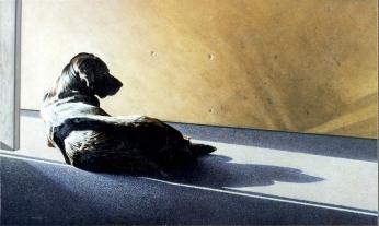 Clayton Anderson, Clayton Anderson Art, J Clayton Anderson, J Clayton Anderson Art, Artist, West Coast Artist, West Coast, West Coast Art, Canadian Art, Canadian Artist, Landscape Artist, Canadian Landscape Artist, Acrylic, Acrylic Painting, Dog, Labrador Retreiver,