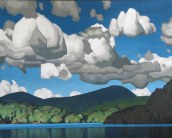 Clayton Anderson, Clayton Anderson Art, J Clayton Anderson, J Clayton Anderson Art, Artist, West Coast Artist, West Coast, West Coast Art, Canadian Art, Canadian Artist, Landscape Artist, Canadian Landscape Artist, Acrylic, Acrylic Painting, Ruby Lake, Sunshine Coast