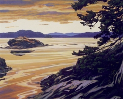 Clayton Anderson, Clayton Anderson Art, J Clayton Anderson, J Clayton Anderson Art, Artist, West Coast Artist, West Coast, West Coast Art, Canadian Art, Canadian Artist, Landscape Artist, Canadian Landscape Artist, Acrylic, Acrylic Painting, Long Harbor, Saltspring, Saltspring Island, Saltspring Island Art,