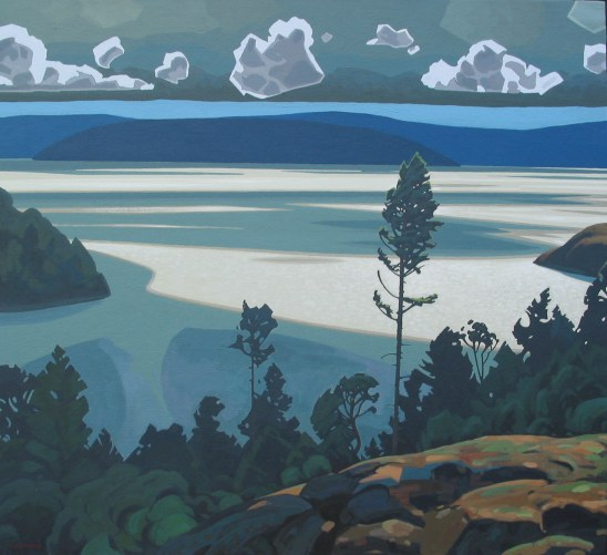 Clayton Anderson, Clayton Anderson Art, J Clayton Anderson, J Clayton Anderson Art, Artist, West Coast Artist, West Coast, West Coast Art, Canadian Art, Canadian Artist, Landscape Artist, Canadian Landscape Artist, Acrylic, Acrylic Painting, Pender Harbor, Sunshine Coast,