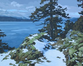 Clayton Anderson, Clayton Anderson Art, J Clayton Anderson, J Clayton Anderson Art, Artist, West Coast Artist, West Coast, West Coast Art, Canadian Art, Canadian Artist, Landscape Artist, Canadian Landscape Artist, Acrylic, Acrylic Painting, Shoreline, Quadra, Quadra Island, The Bluff,