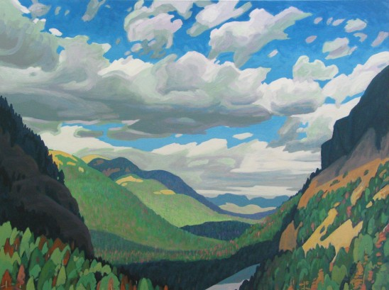 Clayton Anderson, Clayton Anderson Art, J Clayton Anderson, J Clayton Anderson Art, Artist, West Coast Artist, West Coast, West Coast Art, Canadian Art, Canadian Artist, Landscape Artist, Canadian Landscape Artist, Acrylic, Acrylic Painting, Diana Paul Galleries, Calgary, Alberta, Rockies, Rocky Mountains, Rocky Mountain art,