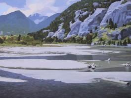 Clayton Anderson, Clayton Anderson Art, J Clayton Anderson, J Clayton Anderson Art, Artist, West Coast Artist, West Coast, West Coast Art, Canadian Art, Canadian Artist, Landscape Artist, Canadian Landscape Artist, Acrylic, Acrylic Painting, Vancouver Island,