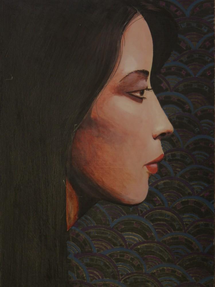 Emiko in Black
