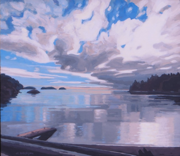 West Coast Reflection