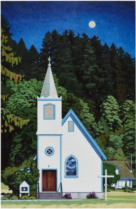 Church - Quadra Island