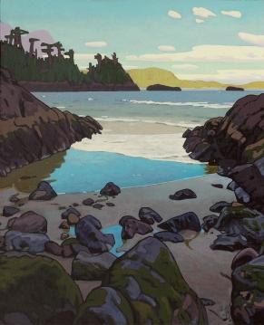 Cove Near Wickanninish 24x20 $3500