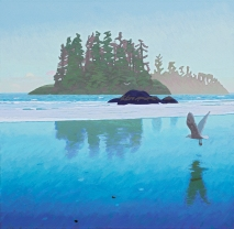 Dusk at Pacific Rim (triptych) $12 500