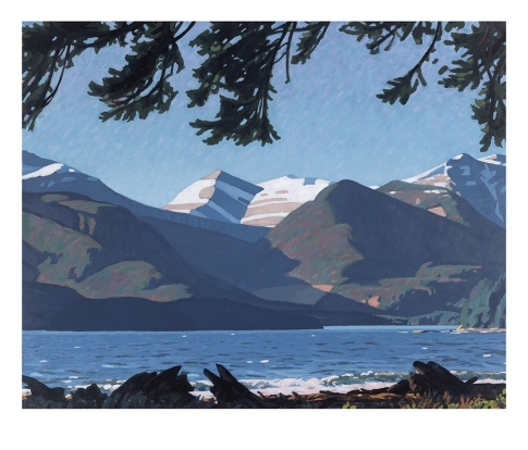 Mount Van der Est - Spring Blow 8x10 $1000