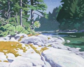 Coanoe Rapids 8x10 $1200
