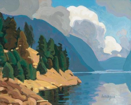 Carpenter Lake 8x10 $1200