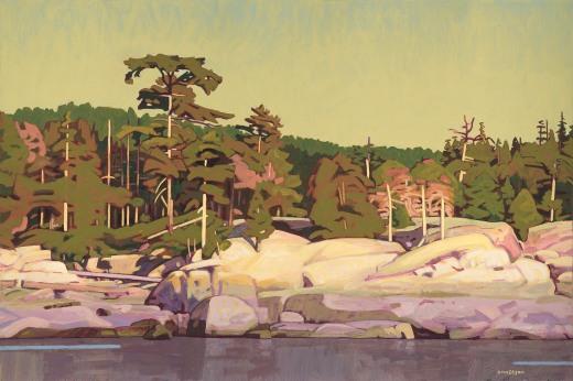 Granite Coast 24x36 $5000