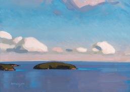 Popham Island 8x12 $1450